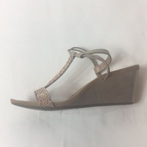 f788db5406ea Style   Co Shoes - Style   Co Mulan Wedge Sandals NIB